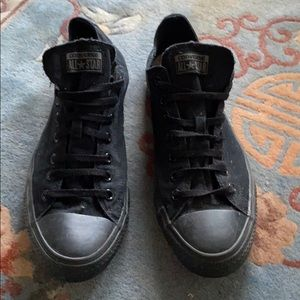CONVERSE All Black Chuck Taylor All Star sz 12